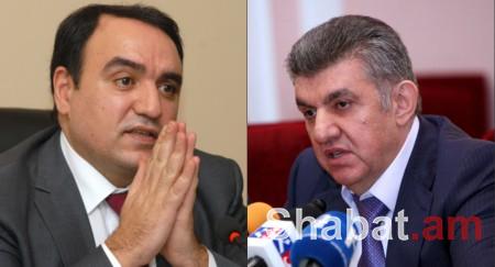 Համաձայնել են. Արա Աբրահամյանը՝ վարչապետ, Արթուր Բաղդասարյանը՝ ՀՀ նախագահ