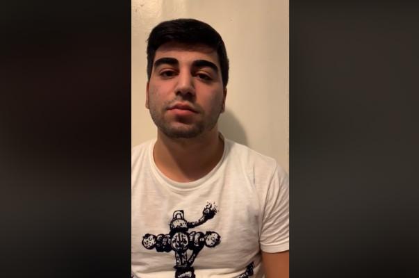 Ղազախստանի ծեծկռտուքից հետո հետախուզման մեջ գտնվող հայ երիտասարդը տեսաուղերձ է հրապարակել