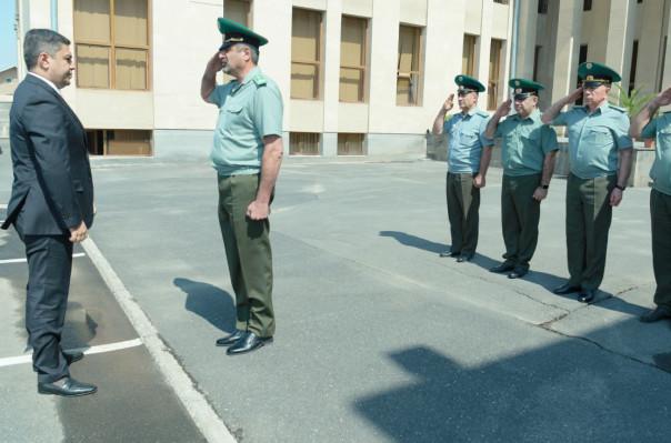 Արթուր Վանեցյանն այցելել է ՀՀ ԱԱԾ Սահմանապահ զորքերի վարչական համալիր