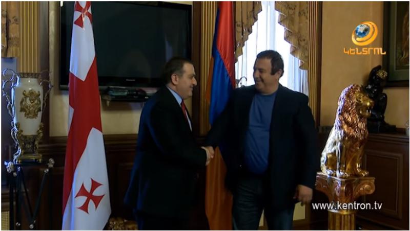 Գագիկ Ծառուկյանն ընդունել է ՀՀ-ում Վրաստանի դեսպան Սագանելիձեին