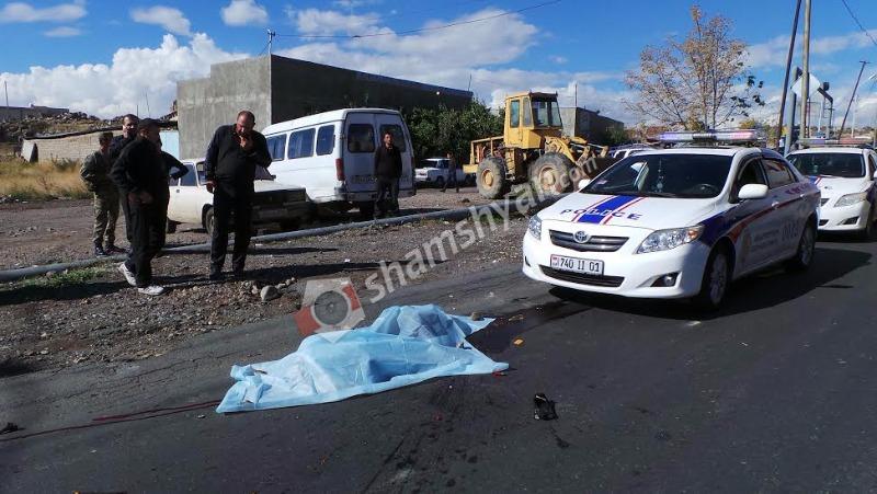 Ողբերգական վրաերթ Երևանում. կինը տեղում մահացել է. ամուսնուն տեղափոխել են հիվանդանոց
