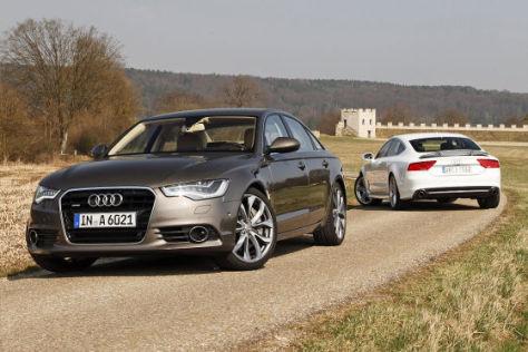 Audi-ն ներկայացրել է թարմացված A6-ը և A7-ը