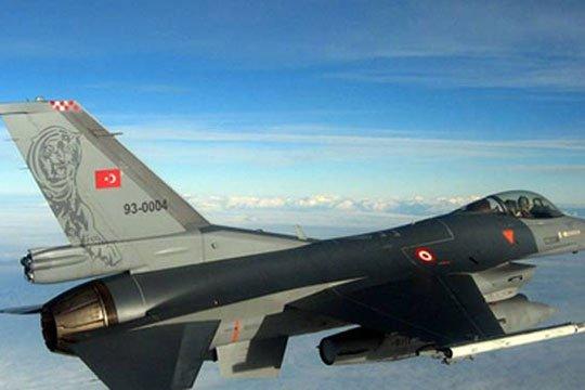 Թուրքական օդուժը ռմբակոծել է Հյուսիսային Իրաքում PKK-ի դիրքերը