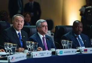 Տարածաշրջանի համար իրական վտանգը Ադրբեջանի և Թուրքիայի նախագահների գործելաոճն է. Սերժ Սարգսյանի ելույթը Միջուկային անվտանգության գագաթնաժողովին