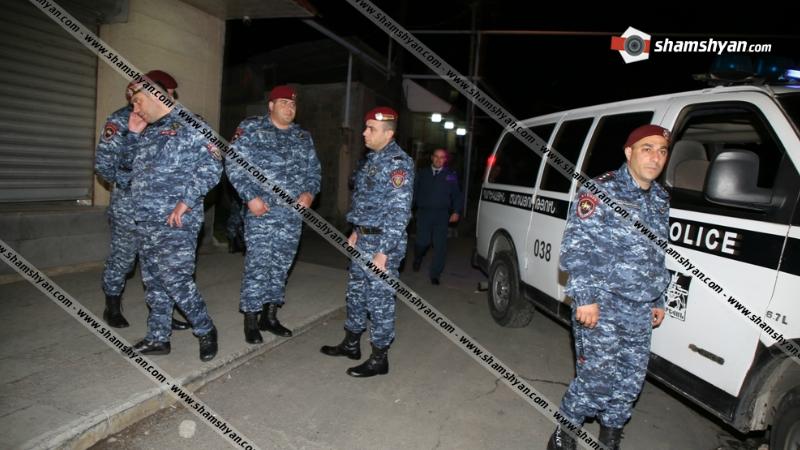 Վիճաբանություն-ծեծկռտուք Երևանում. դեպքի վայր է ժամանել Երևանի ոստիկանապետն ու մեծ թվով «կարմիր բերետներ»