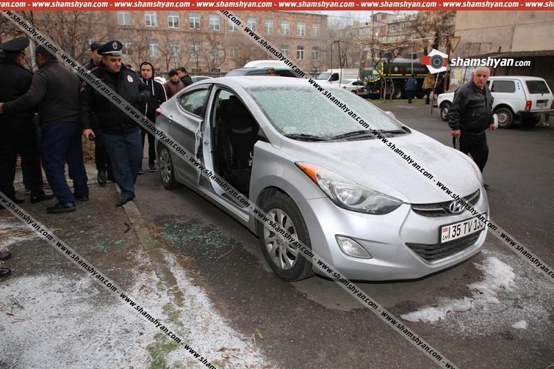 Երևանում գողացել են Hyundai Elantra ավտոմեքենայի դուռը