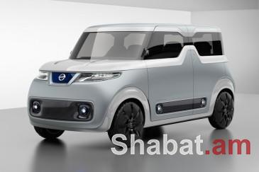 Nissan-ը էկրան-բազկաթոռներով «կոնցեպտ-քար» է ներկայացրել