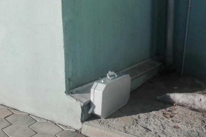 Երևանի շենքերից մեկի մոտակայքում կասկածելի ճամպրուկ է նկատվել