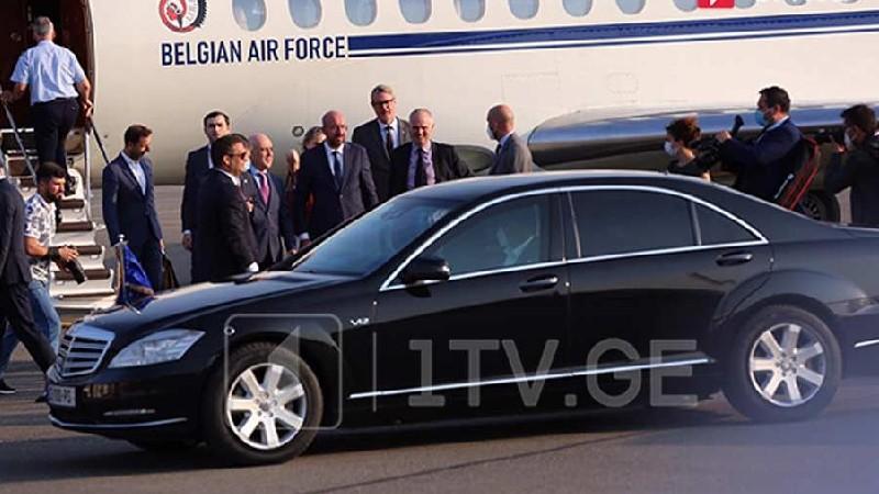 Եվրախորհրդի նախագահը ժամանել է Վրաստան