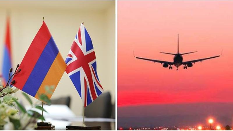Մեծ Բրիտանիան դյուրացրել է դեպի Հայաստան ուղևորությունների կարգը