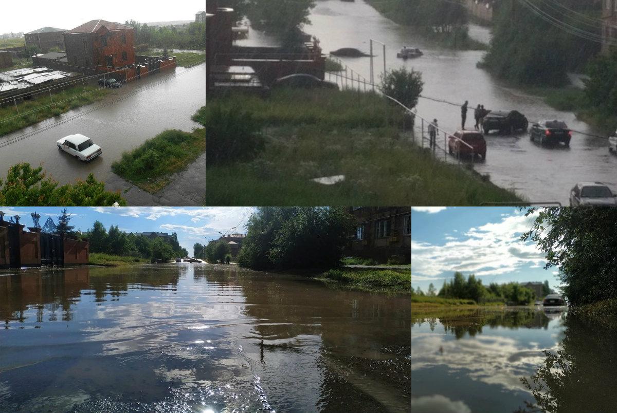 Ամեն հորդառատ անձրևից հետո Գյումրիի փողոցներում «ջրհեղեղ» է (լուսանկարներ). Factor.am