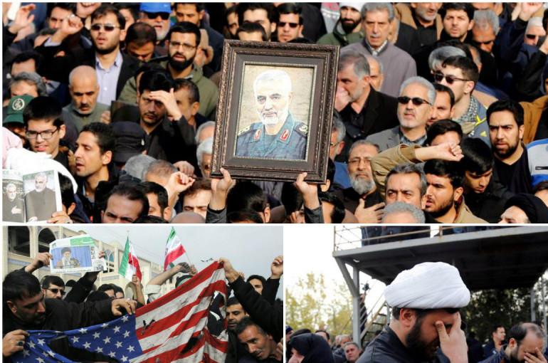«Մահ Ամերիկային». տասնյակ հազարավոր մարդիկ բողոքի ցույցի են դուրս եկել Իրանում