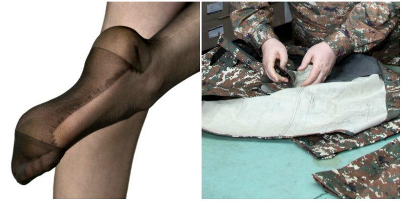 Զինվորի համար կանացի կալգոտկայի մատերիալով անդրավարտիք են կարել, որ էժան նստի