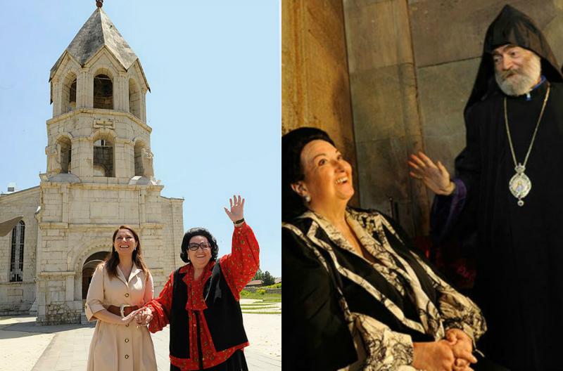 Կաբալյեն ասել է, որ Հայաստանը և  Արցախը  քրիստոնեության կղզյա են