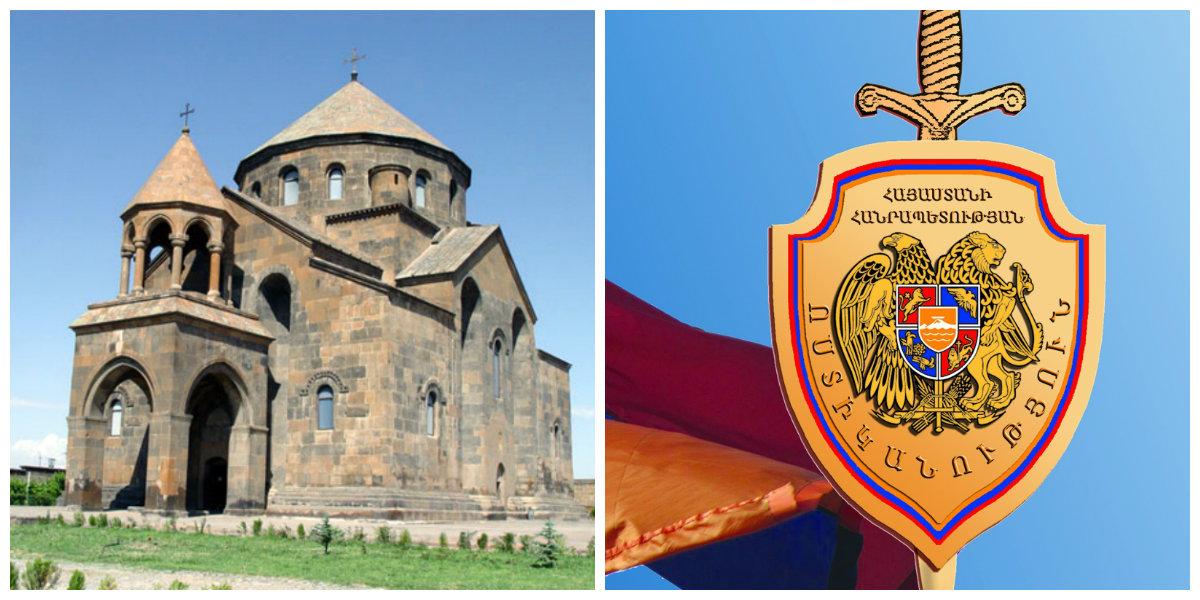 Ոստիկանությունը հաղորդագրություն է տարածել Սուրբ Հռիփսիմե եկեղեցու տարածքում կրակոցների վերաբերյալ