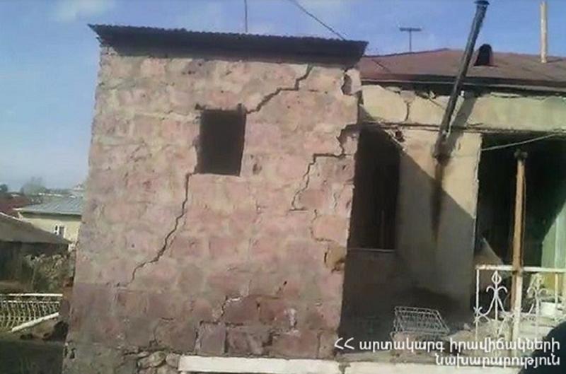 Գավառի Օգոստոսի 23 փողոցի տներից մեկում տեղի է ունեցել պայթյուն և փլուզում, կա տուժած