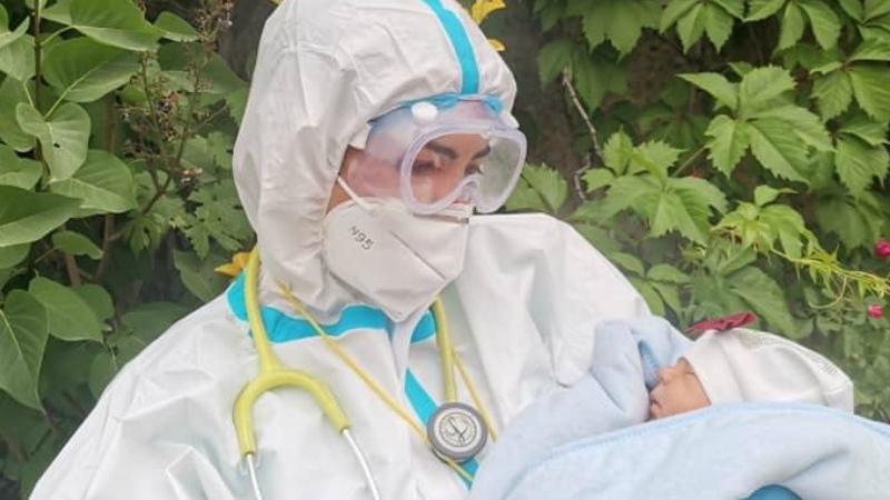 Կորոնավիրուսի ամենափոքրիկ պացիենտը՝ 13 օրական, կրկնակի բացասական թեստով գնաց տուն