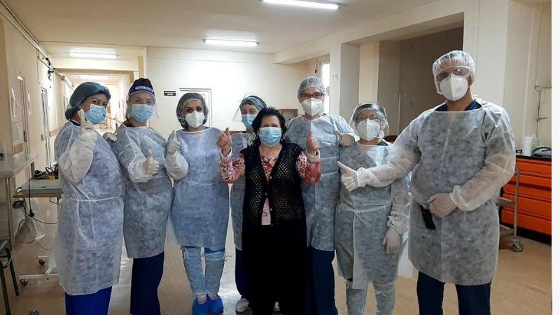 Մի շարք առողջական խնդիրներ ունեցող 67-ամյա կինը հաղթահարել է COVID-19-ը
