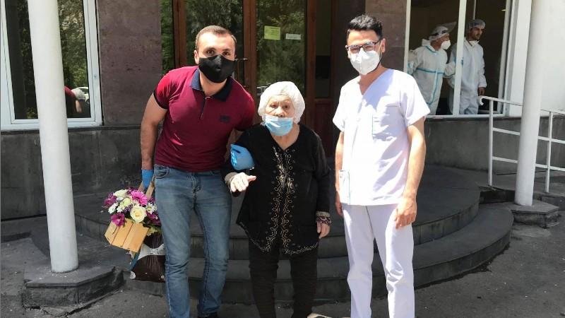 Ապաքինվել է նոր կորոնավիրուսով վարակված 91-ամյա կինը