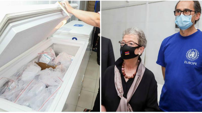 ԱՀԿ-ի կողմից ԵՄ ֆինանսական աջակցությամբ ձեռք բերված ախտորոշման 10000 թեստերն արդեն Հայաստանում են (լուսանկարներ)