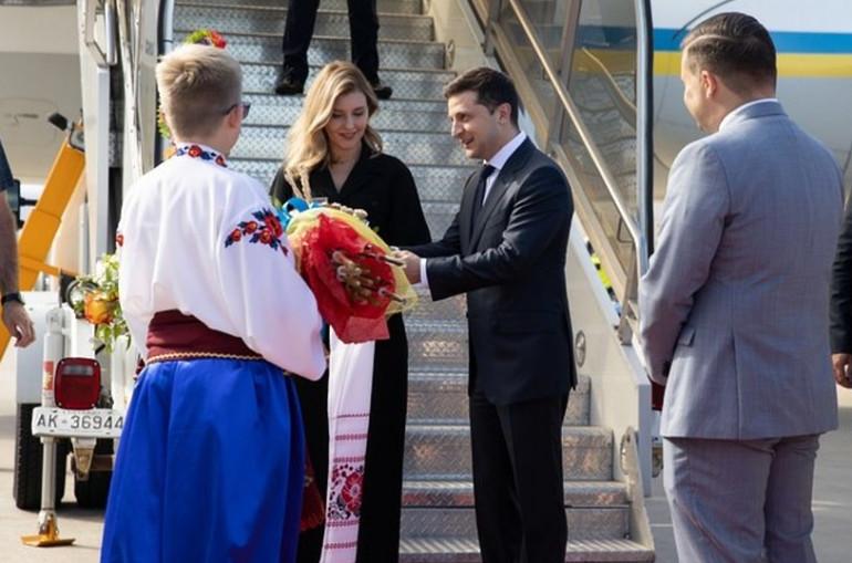 Կանադա այցի ժամանակ Ուկրաինայի առաջին տիկինը ներկայացել է ոչ պատշաճ տեսքով