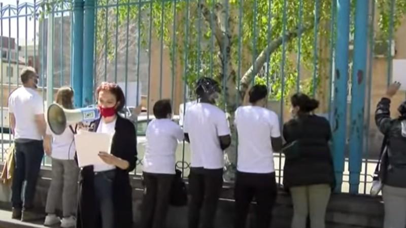 Ռազմագերիներին ազատ արձակելու պահանջով բողոքի ակցիա ՄԱԿ-ի գրասենյանկի դիմաց (տեսանյութ)