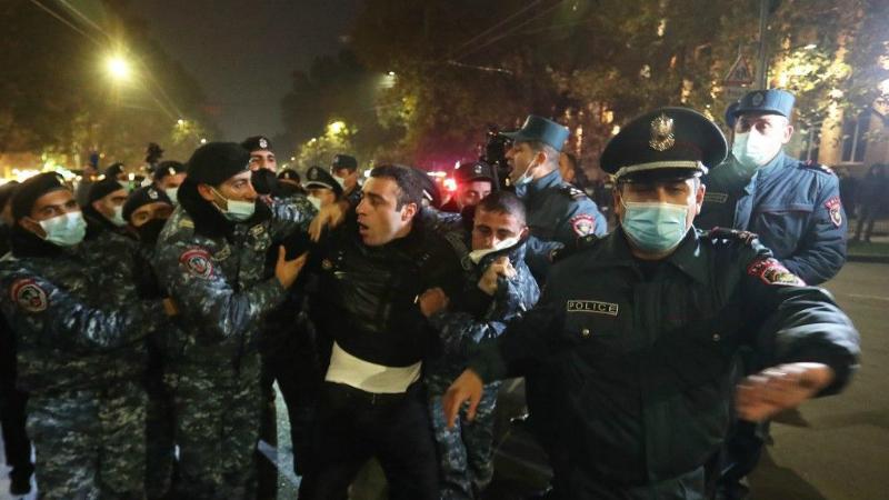 Ոստիկանները բերման են ենթարկել ակցիայի 17 մասնակցի