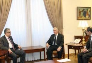 Էդվարդ Նալբանդյանը Ղազախստանի ԱԳ փոխնախարարին է ներկայացրել ԼՂ դեմ Բաքվի սանձազերծած ռազմական գործողությունների հետևանքով ստեղծված իրավիճակը