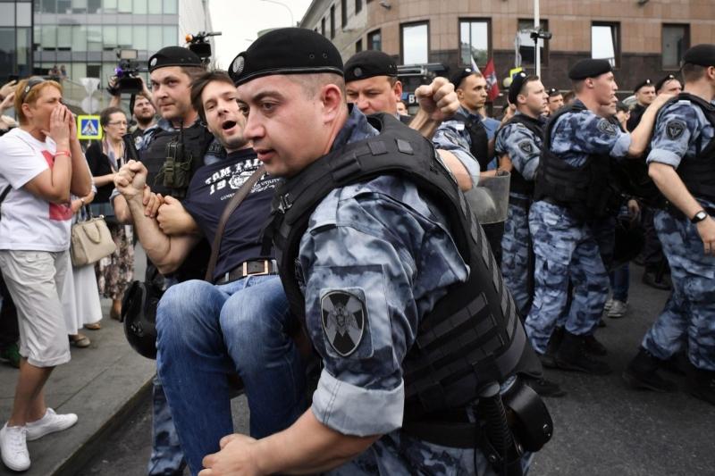 Մոսկվայում հուլիսի 27-ի բողոքի ակցիայի վերաբերյալ գործով 4 մեղադրյալ է կալանավորվել