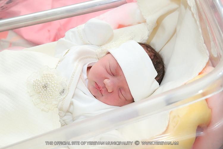 Ապրիլի 8-14-ը մայրաքաղաքում ծնվել է 393 երեխա
