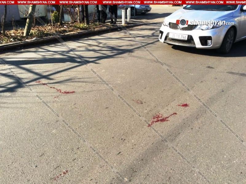 Երևանում KIA-ի վարորդը վրաերթի է ենթարկել 2 հետիոտնի