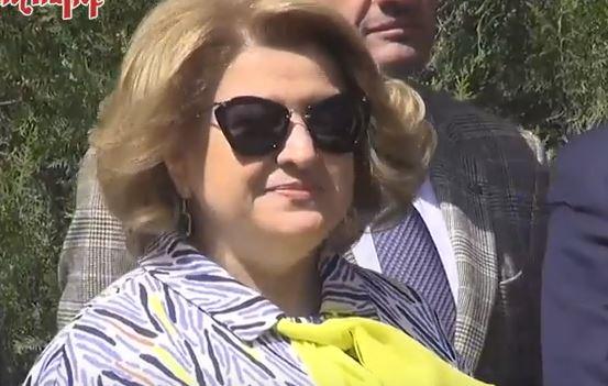 Ինչպես էր Ռիտա Սարգսյանը շտապում թոռնիկի մոտ (տեսանյութ)