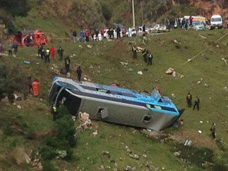 Պերուում ավտոբուսն անդունդն է գլորվել. կան զոհեր և վիրավորներ
