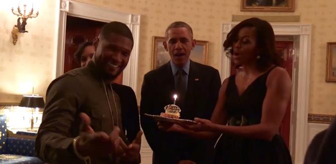 Բարակ և Միշել Օբամաները «Happy Birthday» են երգել Աշերի համար (տեսանյութ)