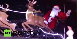 Քաղցկեղով հիվանդ երեխայի համար խաբել են ժամանակը, և նա վայելել է Սուրբ Ծննդյան տոնի հաճույքը (տեսանյութ)