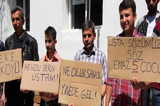 Թուրքական գյուղի ամուրիները բողոքի ակցիա են անցկացրել տեղի կանանց դեմ