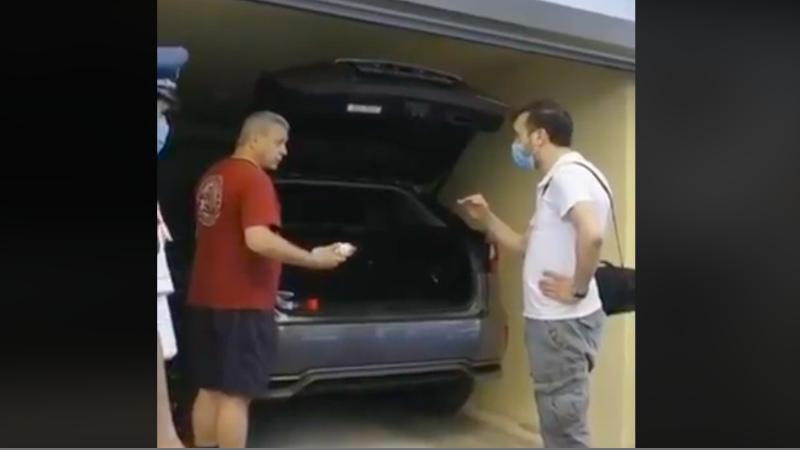 Իրավունք չունես գաս իմ տան մեջ ինձ ասես՝ ինչի դիմակ չես դրել. վիճաբանություն Դանիել Իոաննիսյանի և ոստիկանության գնդապետի միջև (տեսանյութ)
