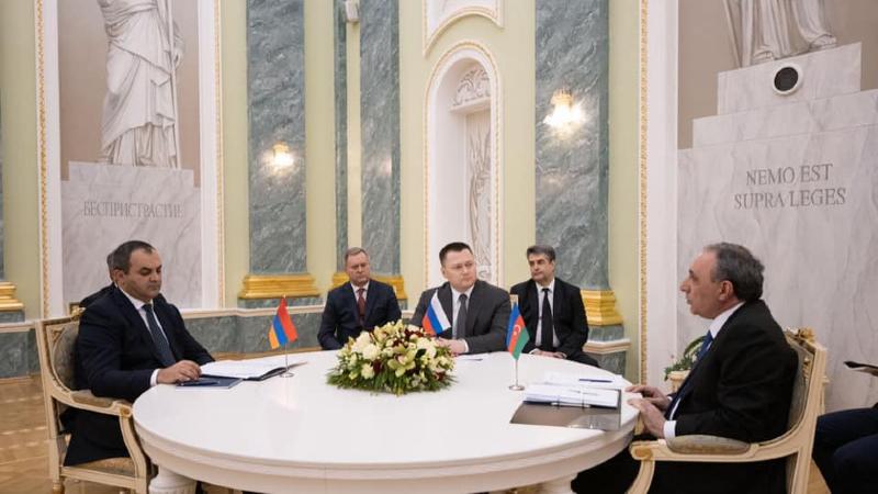 Հայաստանի, ՌԴ-ի և Ադրբեջանի գլխավոր դատախազները Ղազախստանում քննարկել են ԼՂ-ին առնչվող հարցեր