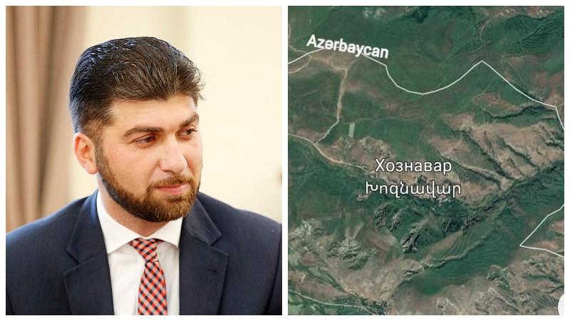 Այսօր սահմանամերձ Խոզնավարում (Սյունիք) գյուղացիները կարևոր խնդիր բարձրացրին. Դավիթ Սանասարյան