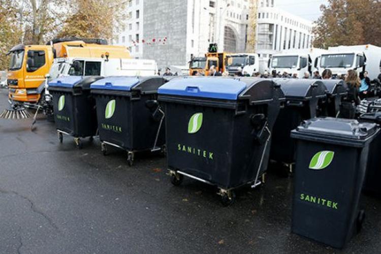 Երևանում կտեղադրվի «Սանիթեք»-ի աղբամանների նոր խմբաքանակ