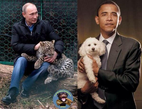 Օբամայի և Պուտինի տարբերությունը մեկ ֆոտոշարքում