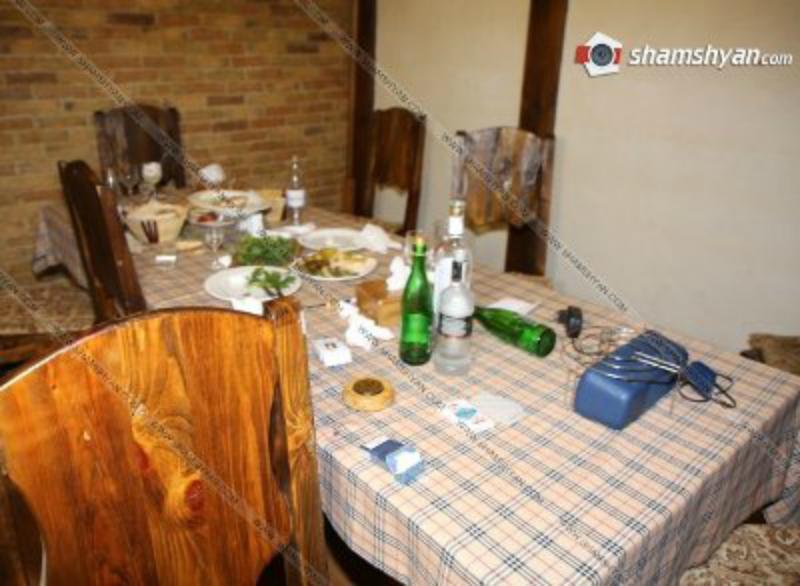 Պարզվում են «Պարտեզ» ռեստորանի մոտ տեղի ունեցած զինված միջադեպի հանգամանքները. երկու անձ ձերբակալվել է