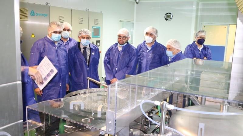 Իրանում Էկոնոմիկայի փոխնախարարը քննարկել է դեղագործության ոլորտում ներդրումային ծրագրեր իրականացնելու հնարավորությունը