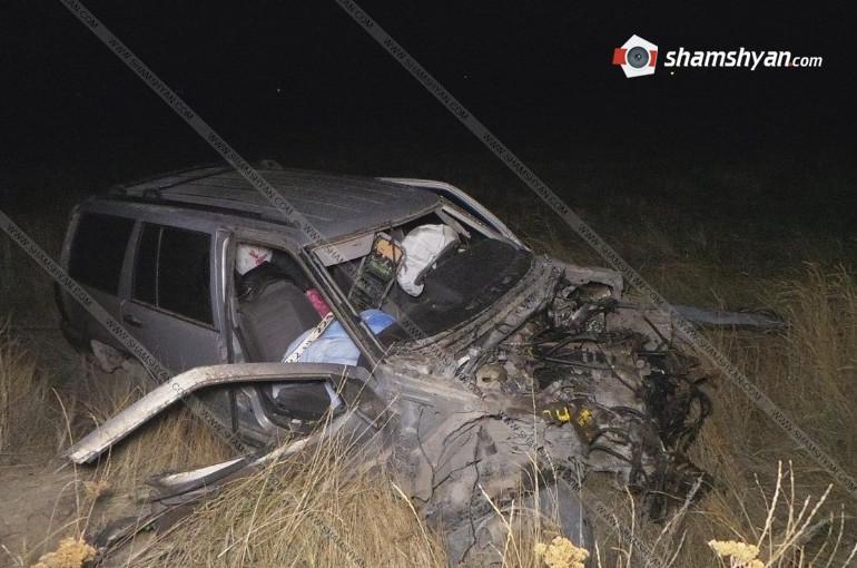 Գեղարքունիքում բախվել են Jeep Grand Cherokee-ն ու КамАЗ-ը