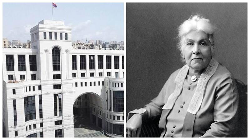 Հայկական դիվանագիտությունը հպարտ է հատկապես այն հանգամանքով, որ առաջին կին դեսպանը Դիանա Աբգարն է եղել. ՀՀ ԱԳՆ