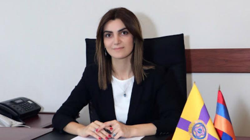 Ես՝ Հայաստանի միակ կին քաղաքապետս, հայտարարում եմ, որ այսօրվանից կամավորագրվում եմ Հայրենիքի պաշտպանությանը. Դիանա Գասպարյան