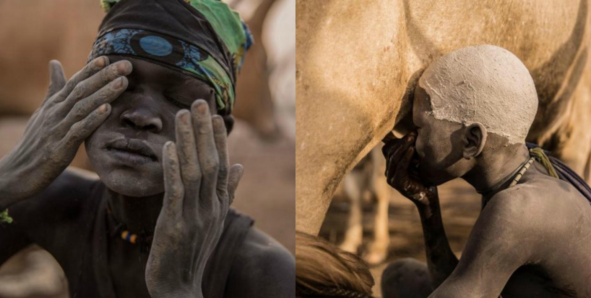 Յուրահատուկ դինկա ցեղը. նրանք երեխաներին կոչում են ցուլերի անուններով և գլուխները լվանում են այծի մեզով (լուսանկարներ)