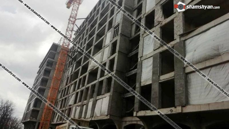 35-ամյա տղամարդը շինարարական աշխատանքներ կատարելիս 10-րդ հարկից վայր է ընկել ու մահացել