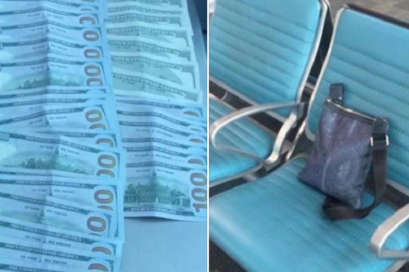 «Զվարթնոց» օդանավակայանում հայտնաբերվել է գումարով պայուսակ, որի մեջ 4000 դոլար է եղել