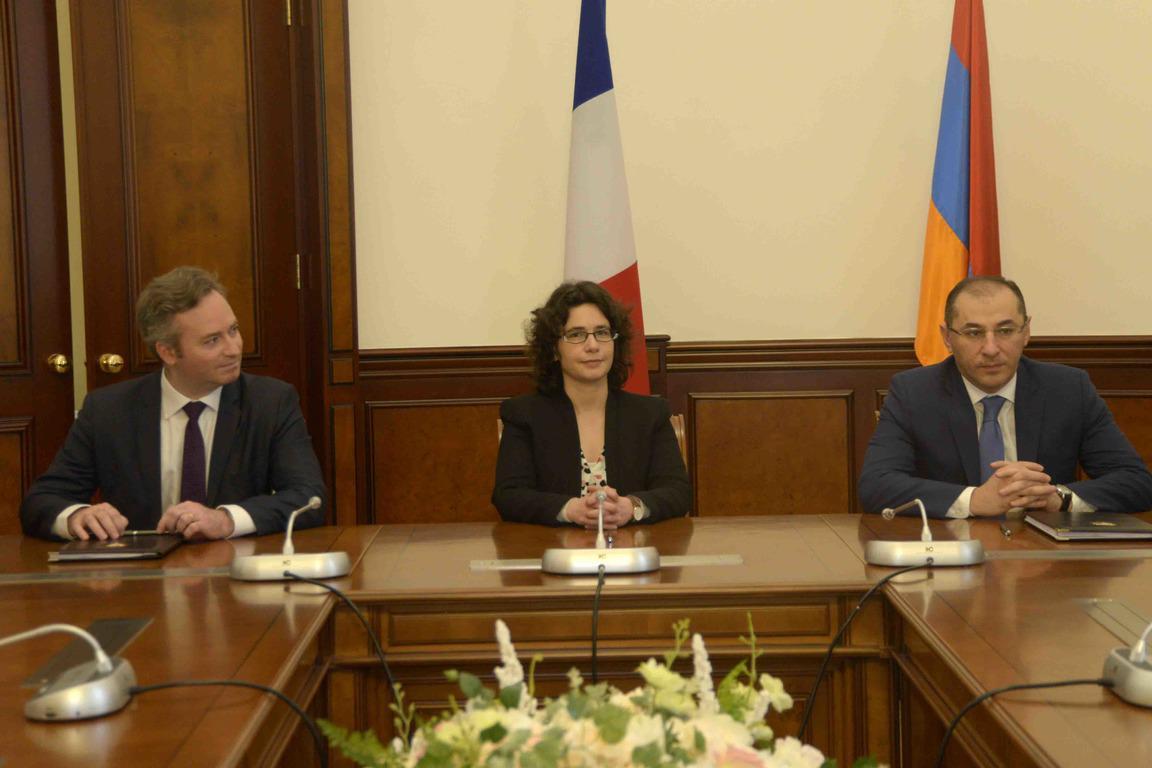 ՀՀ կառավարության և Զարգացման ֆրանսիական գործակալության միջև շուրջ 500 000 եվրոյի դրամաշնորհային համաձայնագիր է ստորագրվել